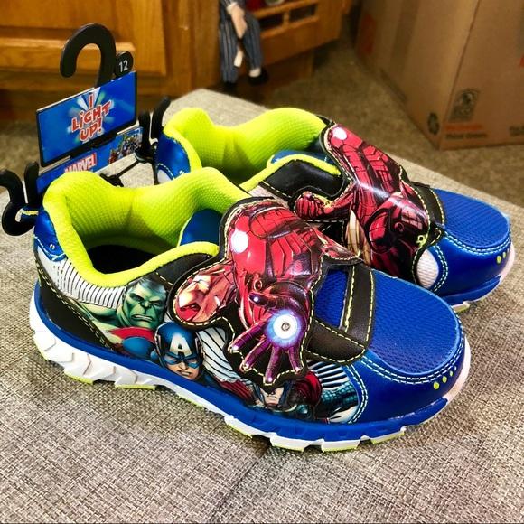 avengers light up shoes Shop Clothing